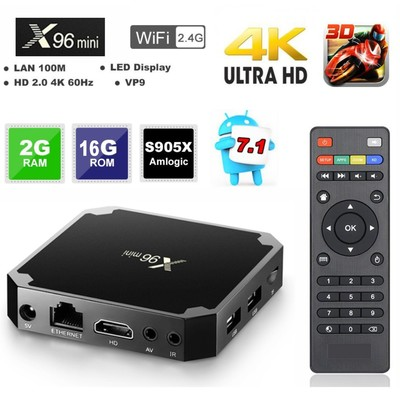 X96 Mini Android Tv Box