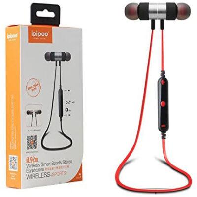 ipipoo iL92BL Black Red headset kufje me magnet ibuy al