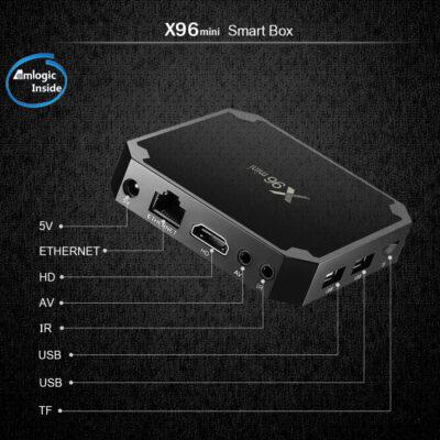 android tv box x96 mini bli online