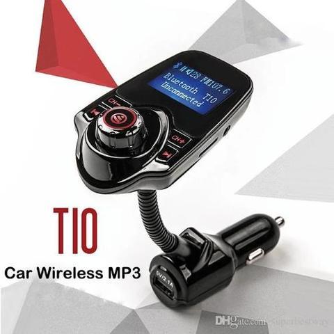 Car Phone Charger Wifi T10 - MP3 Karikues Wireless per makine