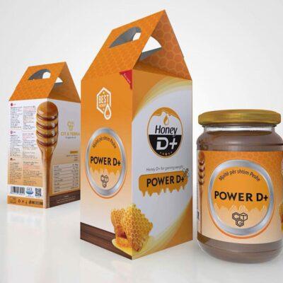 Mjalte per shtim ne peshe - HONEY POWER D+