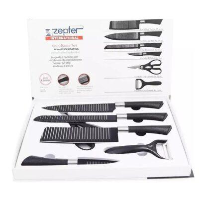 Set me thika Kuzhine Profesionale - Set thikash Zepter - 6 Cope