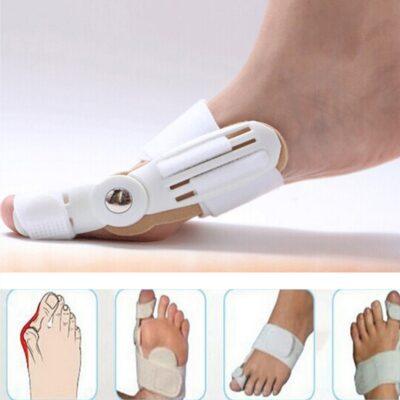 Aparat korrigjes per gishtin e kembes