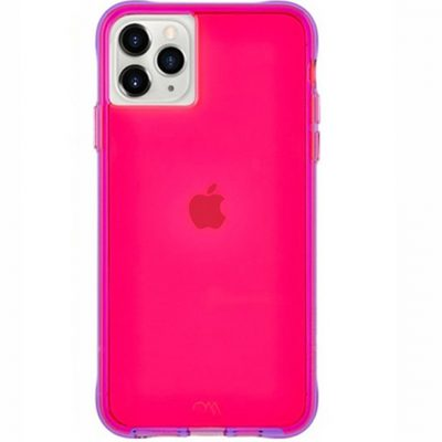 kase iphone PRO MAX neon pink