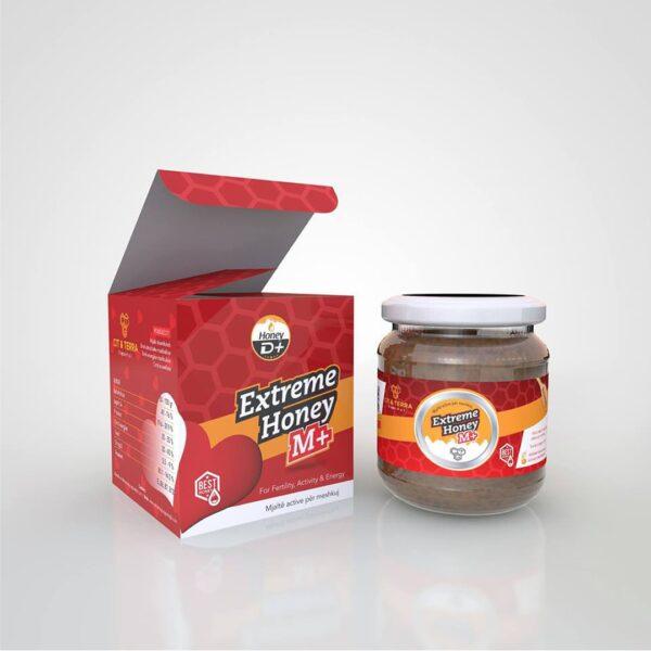 Honey m+ mjalte per potence dhe sterilitet te meshkujt