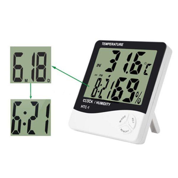 mates temperature dhe lageshtie dixhital