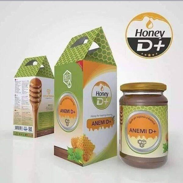 mjalte per trajtimin e anemise D+