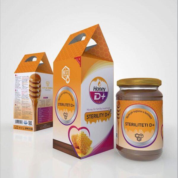 mjalte steriliteti per ferma dhe per meshkuj honey D+