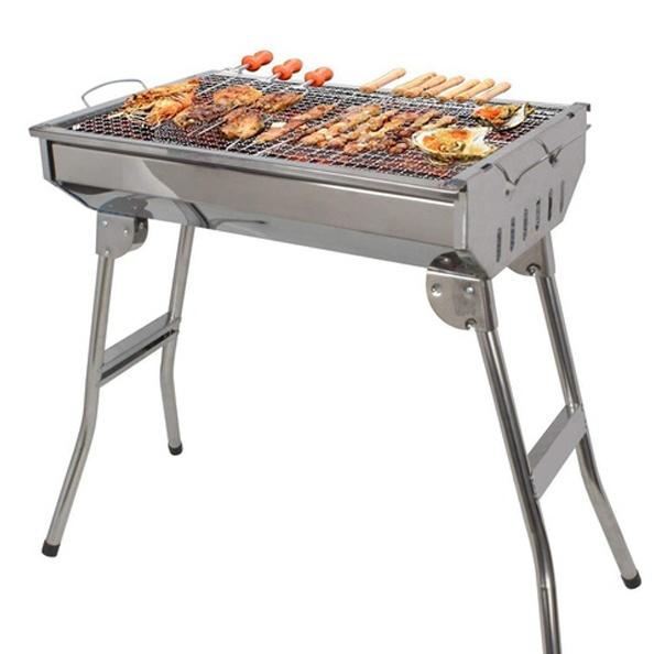 Zgare Portative me qymyr per Barbecue | Gatuani Berxolla derri, mish qingji ne skare