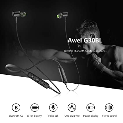 Awei G30BL Wireless Bluetooth Headphones ibuy al