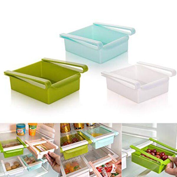 kuti organizuese per frigoriferin storage box