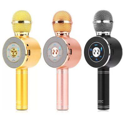 mikrofon per karaoke me bluetooth