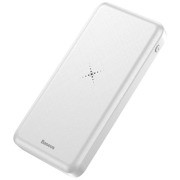 wireless power bank white