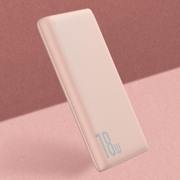 external battery pink