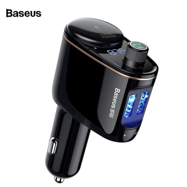 Baseus Charger Karikues Makine dhe MP3 me Bluetooth Car mpr Player