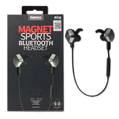Kufje me magnet remax Wireless sports headset Bluetooth App