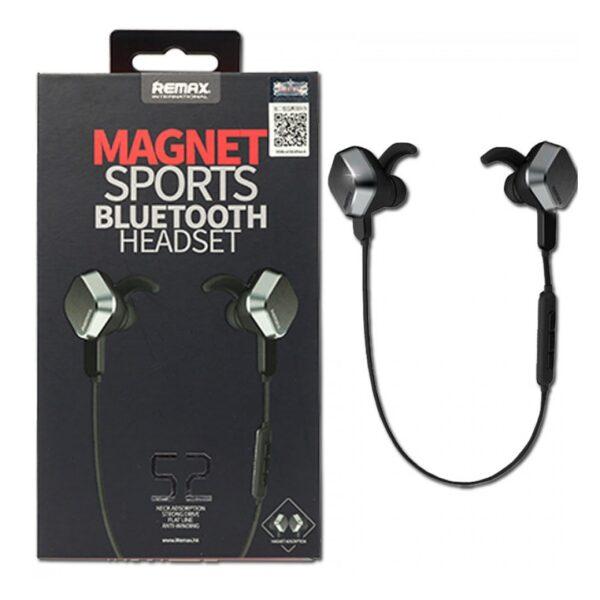 Kufje me magnet remax Wireless sports headset Bluetooth App