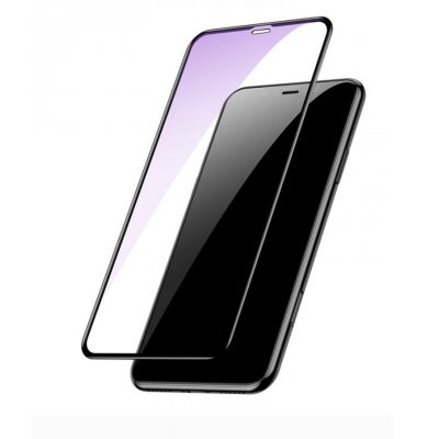 Xham mbrojtes i plote baseus per iphone kunder drites blu