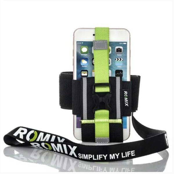 Mbajtese telefoni me rripa najloni Sportive | Romix