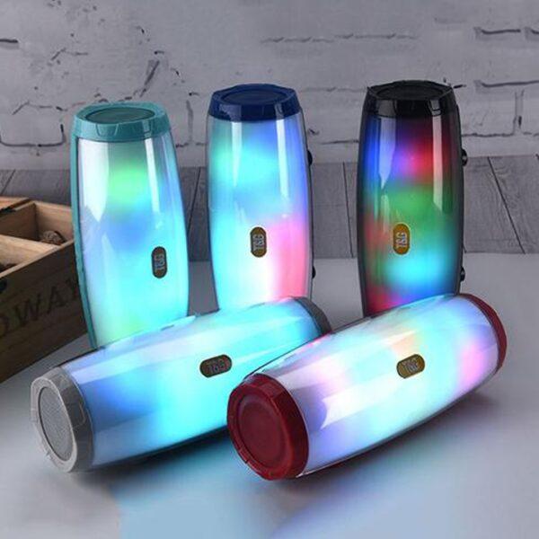 Boks me bluetooth LED