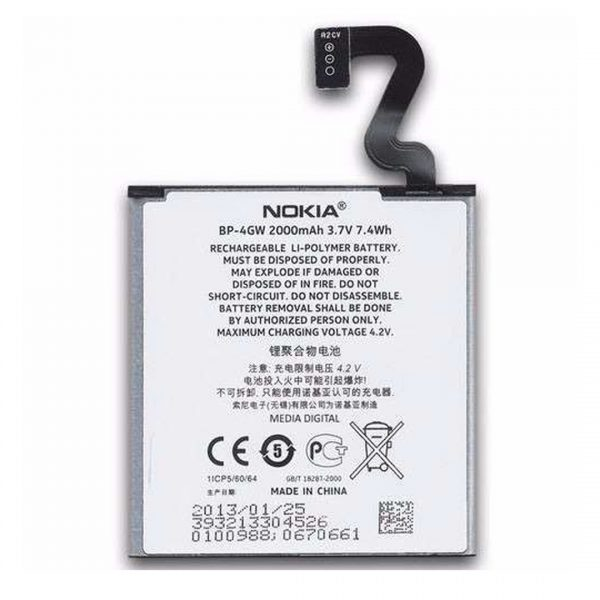 nokia lumia 920 battery