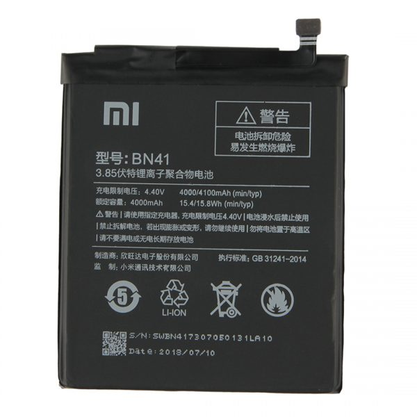 redmi note 4 original battery