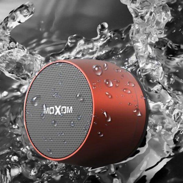 Mini Boks me Bluetooth Moxom | Metalik | Waterproof