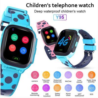 Ore inteligjente per femije Y95 | Kids Smart Watch