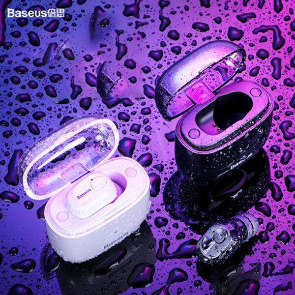 Kufje teke Baseus Encok me Bluetooth dhe mbajtese karikimi