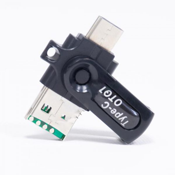 USB OTG Type C - Micro SD Card