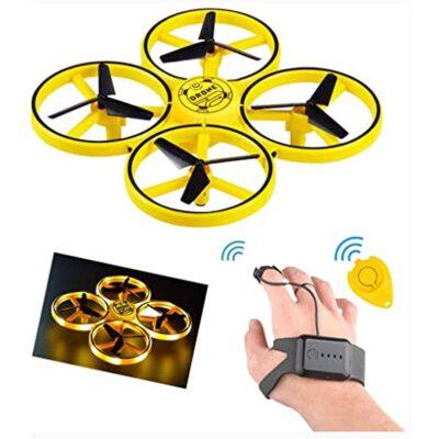 Mini Dron QuadCopter me sensor graviteti & drita LED
