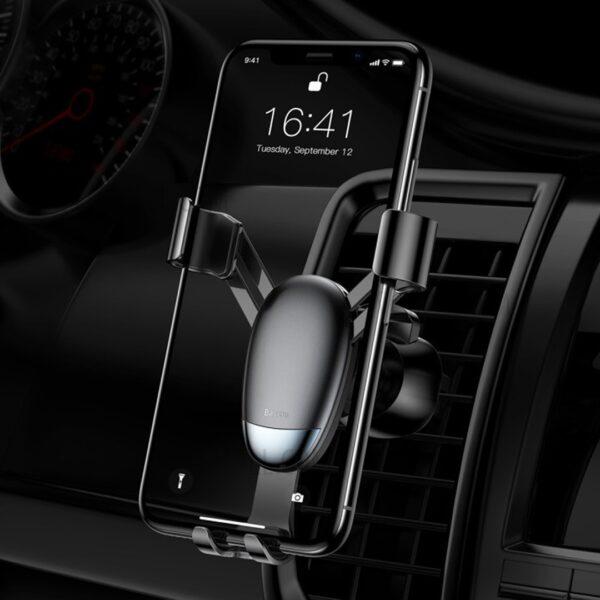 Mini mbajtese telefoni per makine Baseus | Gravity Phone holder