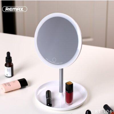 Pasqyre Grimi me Drite LED Remax - Rrethore