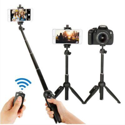 Tripod Yunteng | Selfie Stick per iOS dhe Android