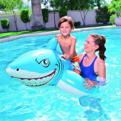 Bestway Inflatable Great White Shark komerdare per femije produkt online iBuy.al