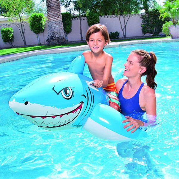 Bestway Inflatable Great White Shark komerdare per femije produkt online iBuy.al