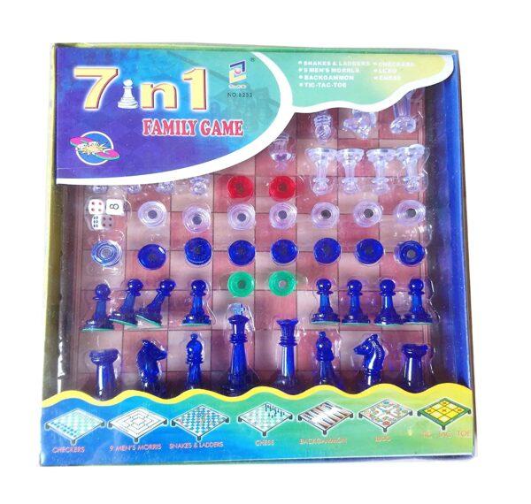 Kuti me lojera te ndryshme 7 in 1 Family Game bli online iBuy.al
