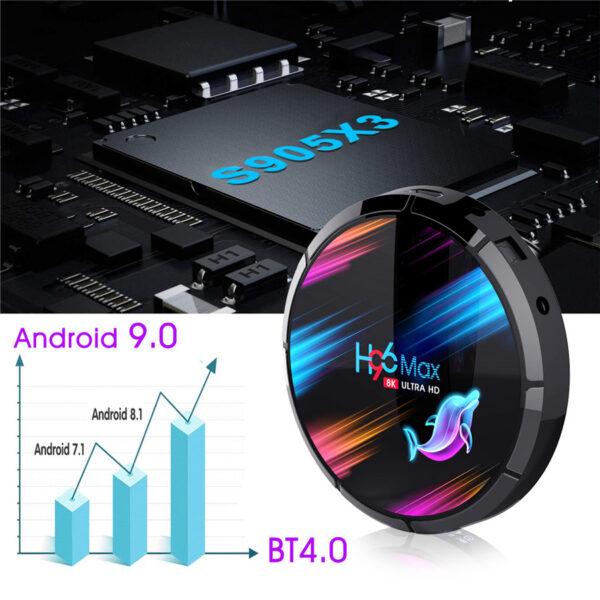 5 ram 4GB and rom 64gb smart tv box iBuy al