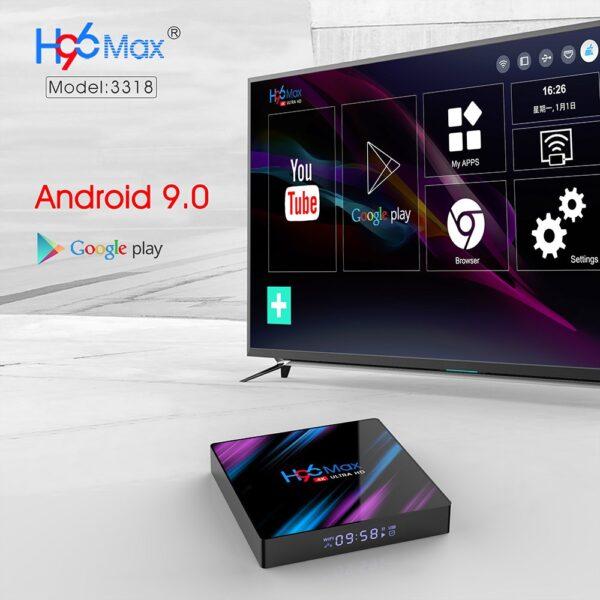 h96 max android smart tv box ne ibuy al bli online