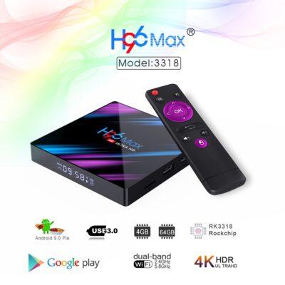 H96 max 4 gb ram 32 gb rom android tv box bli online ne ibuy al