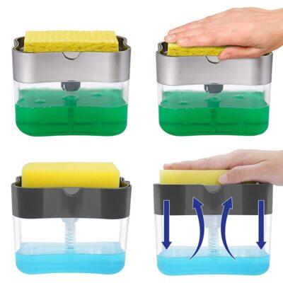 mbajtese detergjenti dhe sfungjeri soap pump bli online
