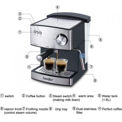 sonifer coffee mashine electric iBuy al