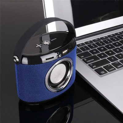 DOGO G21 Mini Portable Bluetooth Speaker Fabric Housing Loudspeaker Wireless Receiver Support FM Radio with Microphone product online iBuy al