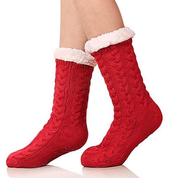 Huggle Slipper Socks Faux Cashmere Product Online IBuy al