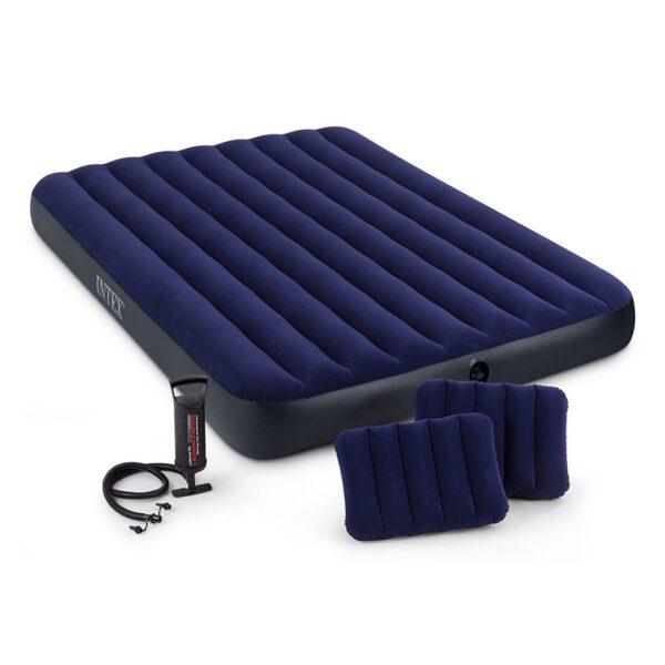dyshek me ajer dy jastek dhe pompe set intex bli online ne iBuy al