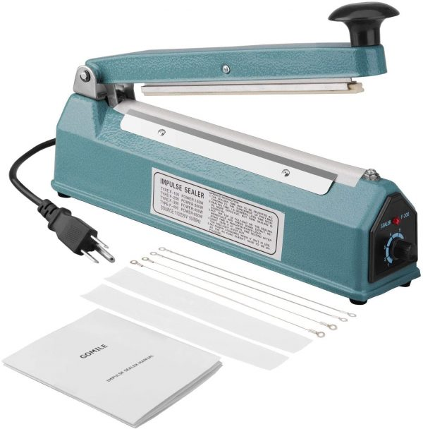 impulse sealer 8 inch handheld iBuy al