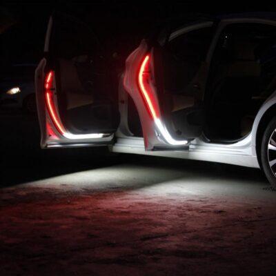 led car door warning lights 120cm anti collision iBuy al