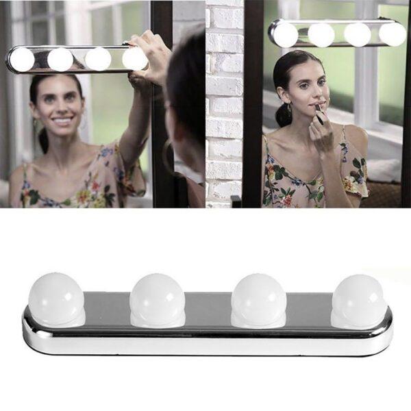 studio glow 4 led bulbs portable makeup Bli Online ne iBuy al