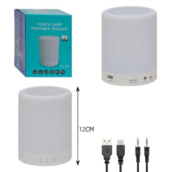 touch lamp portable speaker cl 671 buy online iBuy al