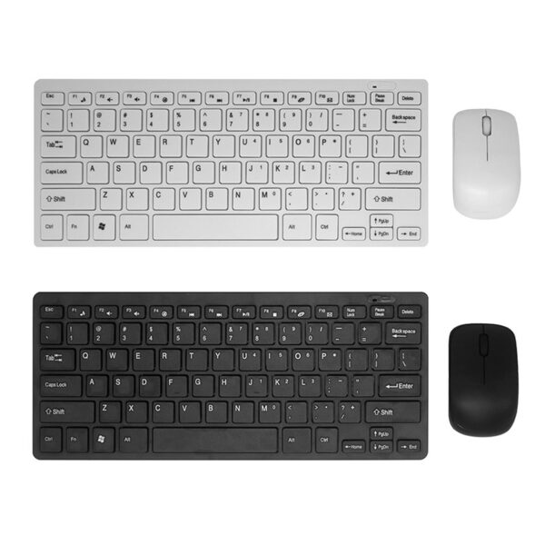 k03 ultra thin 2.4g mini wireless keyboard and mouse combo online ibuy al